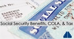 COLA, Social Security, and Tax 2019